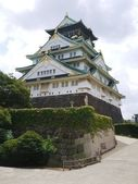 Pretty osaka jio castle — Stock Photo