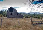 Old farm in Qualicum Bay. — Zdjęcie stockowe