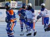 World's Longest Hockey Game — Stock Photo