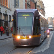 Stock Photo: Luas Red Line in Dublin, Ireland