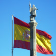 Stock Photo: Christopher Columbus in Madrid, Spain