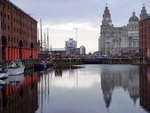 Liverpool's Albert Dock — Stock Photo