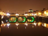 River Liffey, Dublin, Ireland — Stock Photo