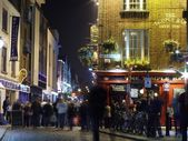 Temple Bar area in Dublin — Stockfoto