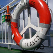 Glasgow Caledonian Isles - Life ring — Stock Photo