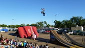 Motocross de edmonton capital-ex — Foto de Stock