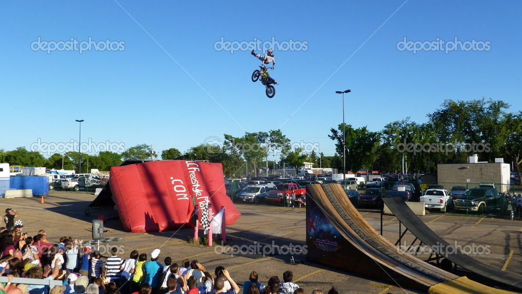Edmonton&#039;s Capital-Ex Motocross  Stock Photo #13896235