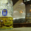 Hofbräu Beer München — Stock Photo