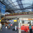 Stock Photo: Berlin Hauptbahnhof