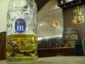 Hofbräu Beer München — Stock Photo