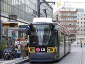 Tram System in Berlin, Germany — Stock Photo