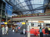 柏林中央火车站 — 图库照片