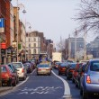 Stock Photo: Bus Lane in Dublin, Ireland