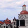 Stock Photo: Colonial-ertowers in Old Havana