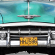 Stock Photo: Classic Chevy in Havana, Cuba