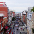 Quebec City Street Scene — Foto Stock