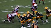 Canadian Football League (CFL) Photo — Stock Photo