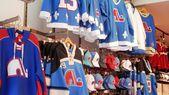 Québec Nordiques Attire — Fotografia Stock