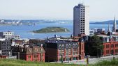 View of Downtown Halifax and George's Island (Nova Scotia, Canada) — Stockfoto