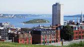 View of Downtown Halifax and George's Island (Nova Scotia, Canada) — Stock Photo