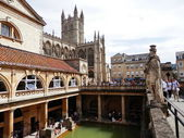 Photo of the Great Bath, at Bath, England. — Stockfoto