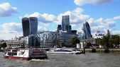 Photo of London's Financial District — Stock Photo