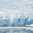 Huge ice shelf on the beach — Stock Photo #13813815