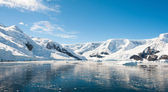 Paradise bay na antártida — Foto Stock