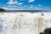 Amazing Iguassu waterfall — Stock Photo