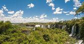 Amazing Iguassu waterfall — Stock Photo