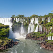 Iguazu fall panorama — Stock Photo
