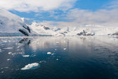 Paradise bay in Antarctica — Stock Photo