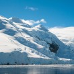 Paradise bay in Antarctica — Stock Photo
