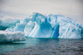 Different forms of icebergs, Antarctica — Stock Photo