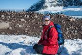 Exploring the Antarctica — Stock Photo