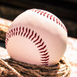 Stock Photo: Baseball ball close-up