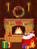 クリスマスを待っています。 — ストック写真