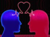 Energia d'amore — Foto Stock