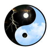 Yin Yang Weather — Stock Photo