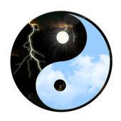 Yin Yang Weather — Stock Photo