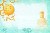 Buddah meditation — Stock Photo