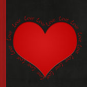 Corazón amoroso — Foto de Stock
