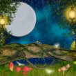 Magical  night — Stockfoto
