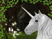 Unicorn — Stockfoto