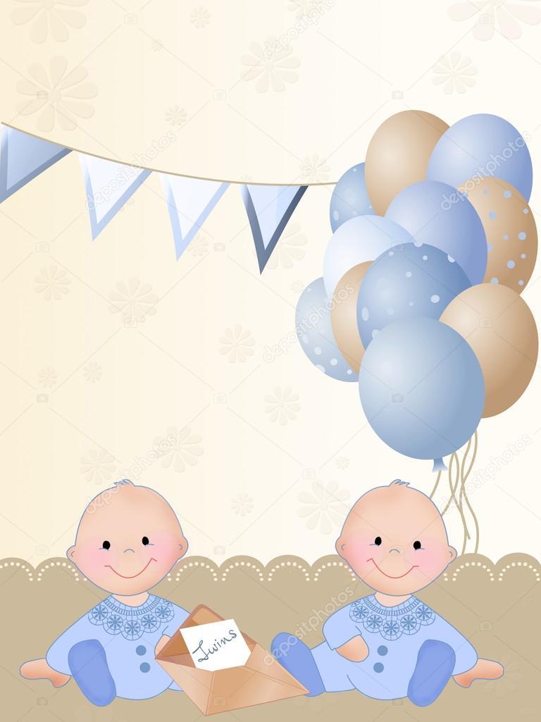 Поздравление с днем рождения близнецам 1 год 60