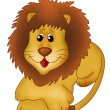 Cute Lion — Stock Photo
