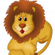 Cute Lion - Stock Photo