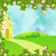 Stock Photo: Fairy castle
