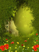 Fairy forest — Stock Photo