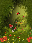 Fairy forest — Foto Stock